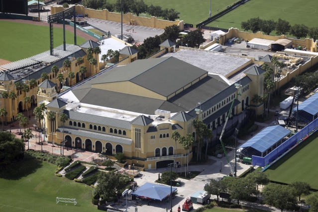 The NBA will resume its season at ESPN's Wide World of Sports Complex at Disney. (Credit: mpi34/MediaPunch /IPX)