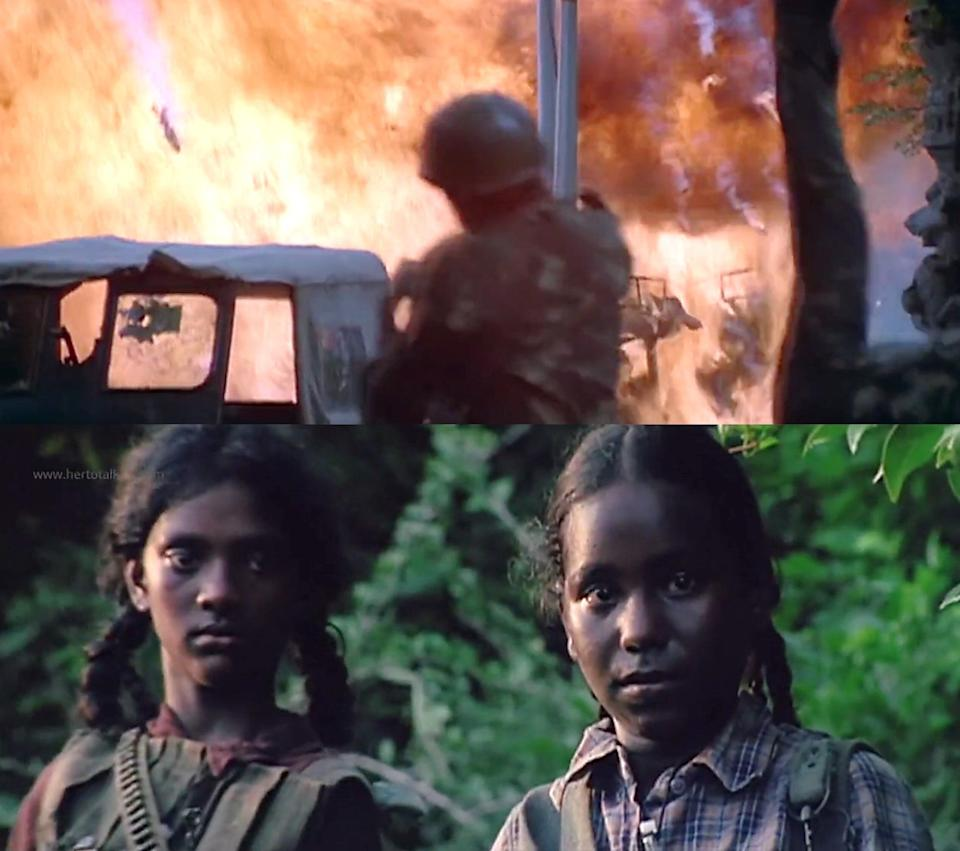 Reducing the Tamil struggle to suicide-bombers and child soldiers   (Photo: HuffPost India )