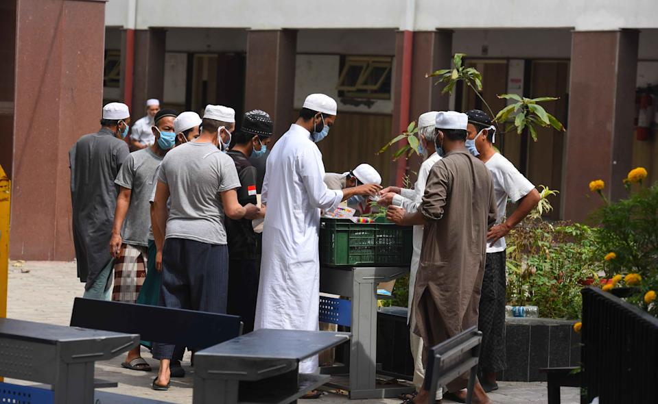 Nizamuddin area in Delhi emerges as a coronavirus hotspot after a large number of Tablighi Jamaat attendees test positive.