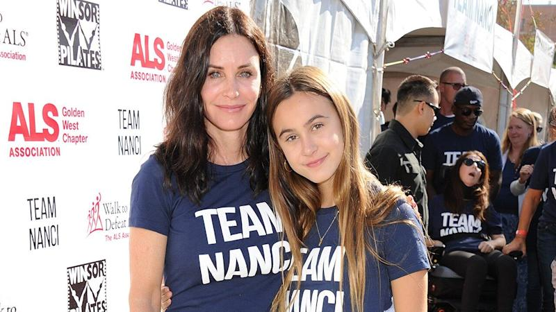 Courteney Cox and Daughter Coco Arquette Are Totally Twinning in This New Side-by-Side