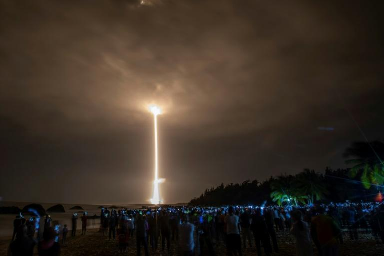 The launch of a rocket carrying China's Chang'e-5 lunar probe underlined how much progress Beijing had made towards its 'space dream'