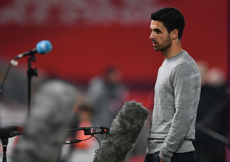 Arsenal a long way away from Liverpool's standard: Arteta