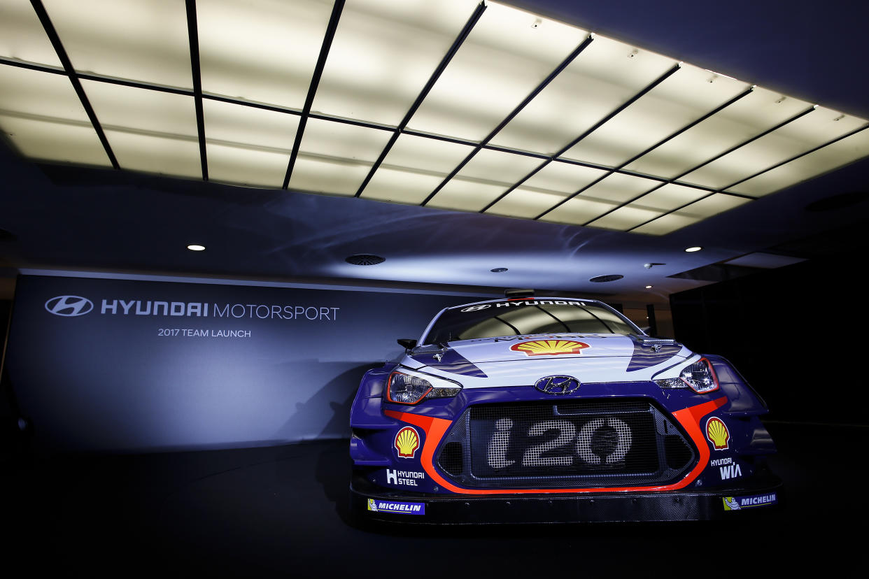 Hyundai Motorsport 2017 Team Launch Monza, 1st December 2016Hyundai i20 Coupe WRCPhotographer: Sarah VesselyWorldwide copyright: Hyundai Motorsport GmbH