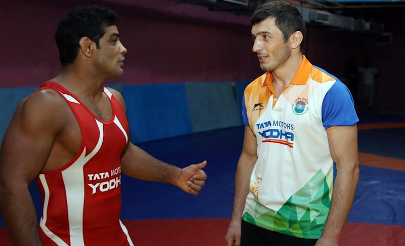 Sushil Kumar is returning to the World Championships after eight years. Image courtesy: Wrestling Federation of India