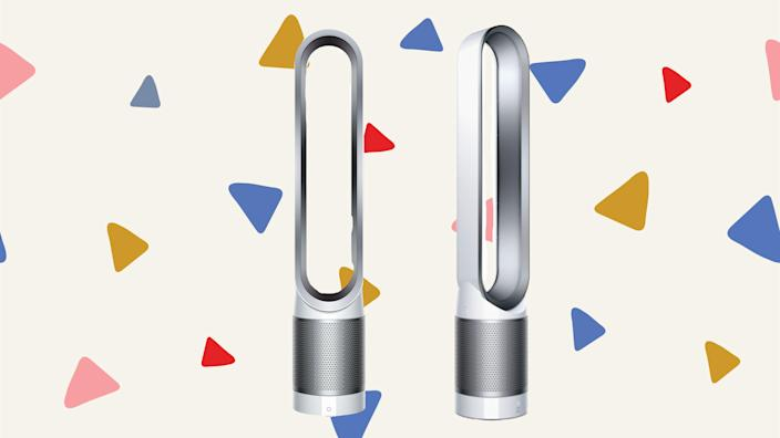 This air purifier doubles as a fan—and it's on sale now.