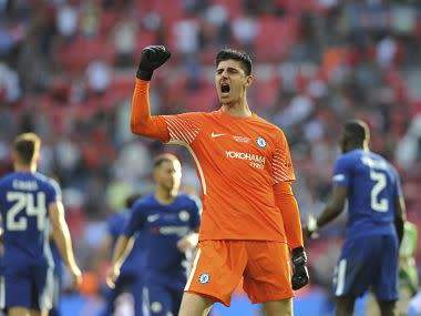 Courtois, whose contract is about to expire, was asked if Chelsea needed to bolster their squad if they were to make a title challenge next season.
