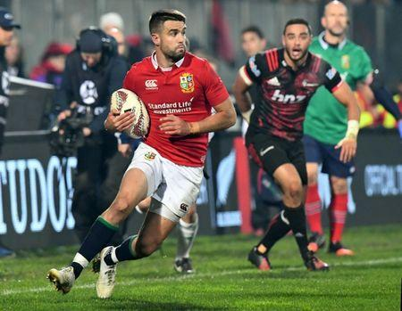 Rugby Union - British and Irish Lions vs Crusaders AMI Stadium, Christchurch, New Zealand - 10/6/17 - Conor Murray of the Lions against the Crusaders. SNPA/Martin England/via REUTERS