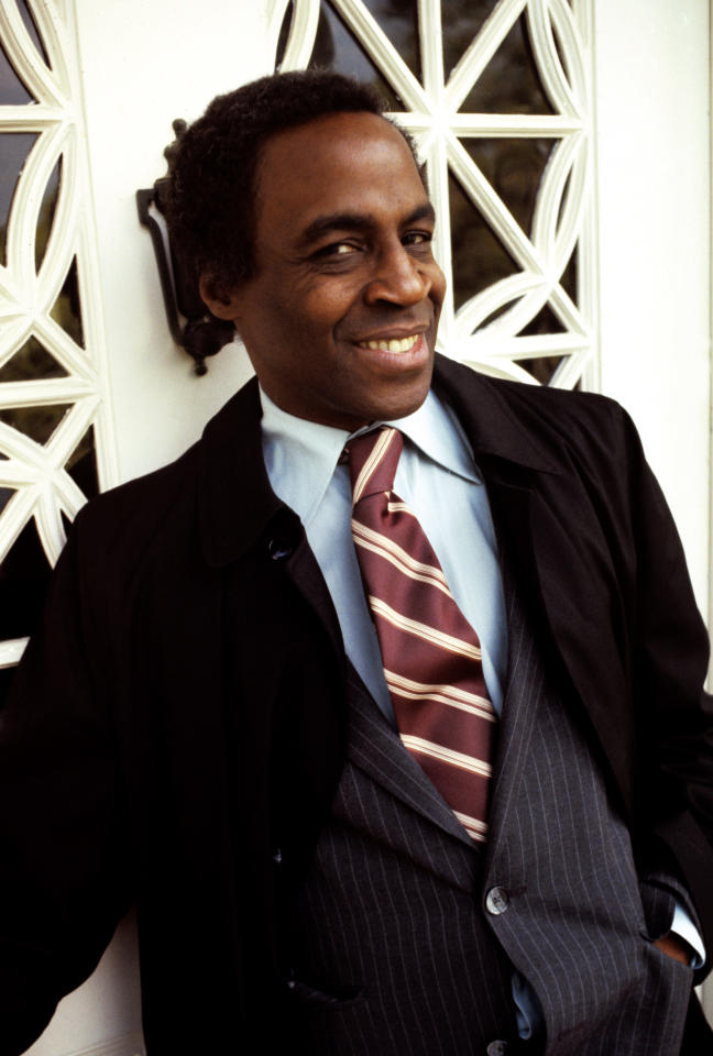 """<p>The Emmy Award-winning actor <a rel=""""nofollow"""" href=""""https://www.yahoo.com/entertainment/robert-guillaume-benson-emmy-winner-eies-89-201940792.html"""">died Oct. 24</a> following a struggle with prostate cancer. He was best known for playing Benson on the TV series <em>Soap</em> and its spinoff, <em>Benson</em>, as well as being the voice of Rafiki in <em>The Lion King</em>. Guillaume was 89. (Photo: Getty Images) </p>"""