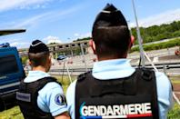 Some 300 gendarmes backed up by seven armoured vehicles, seven helicopters as well as sniffer dogs spent Sunday searching the forest