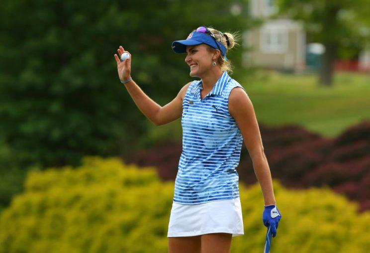 Lexi Thompson wins LPGA's Kingsmill Champ. by 5 for first win of year