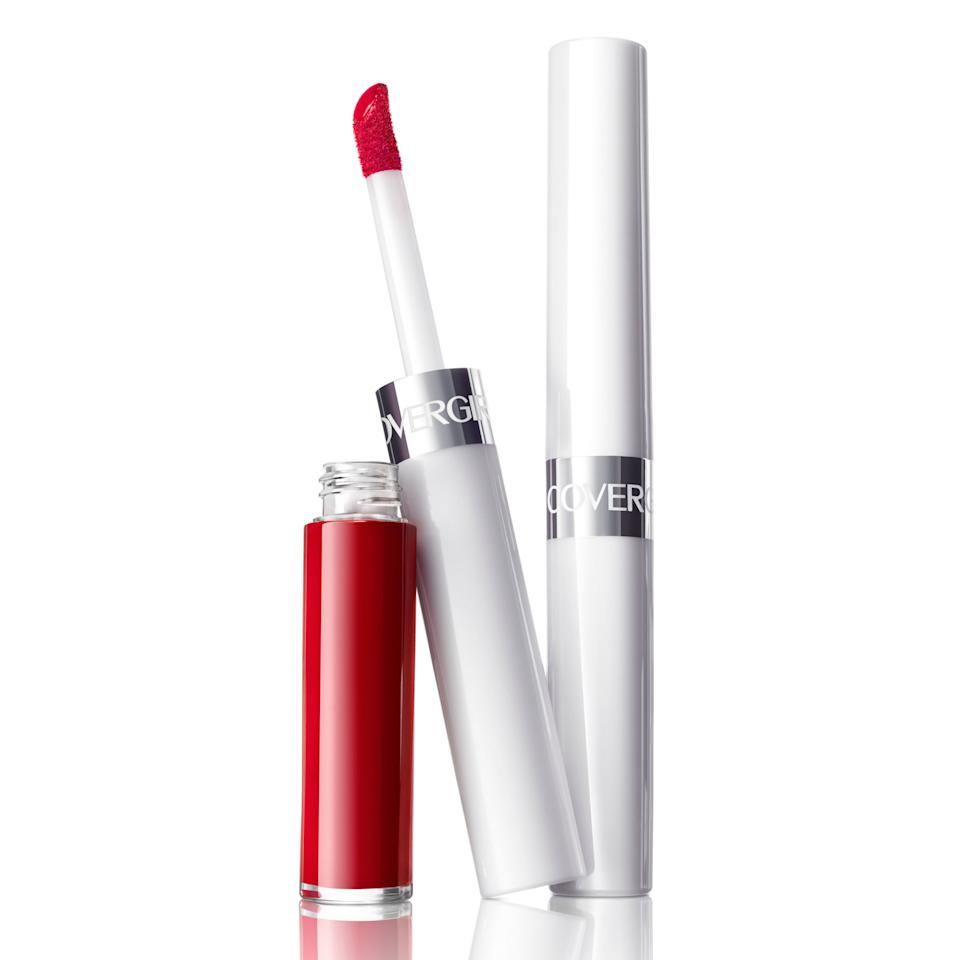 """<p><span>If you've ever wondered where to find <em>the</em>perfect red lipstick, CoverGirl has your back with this new smudge-proof range, with hues to compliment every skin tone. The packaging is complete with an easy-to-use guide about finding — and mixing — the perfect cherry, brick, or coral red for your own complexion. ($7.99)  </span><span></span></p><p><a rel=""""nofollow"""" href=""""https://www.walmart.com/ip/COVERGIRL-Outlast-All-Day-Custom-Reds-Lip-Color/53723320"""">BUY NOW</a></p>"""
