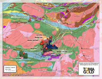 TomaGold Announces Spin-Out Corporation for Monster Lake and Newly Acquired Gold Assets (CNW Group/Corporation TomaGold)