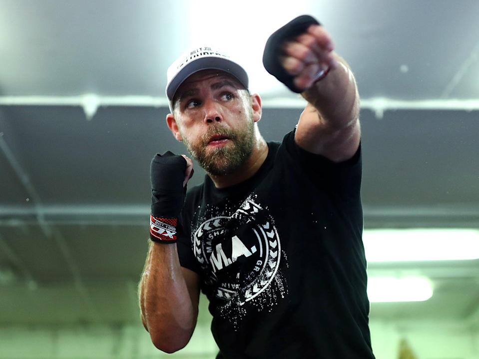 British super middleweight boxer Billy Joe Saunders (Getty Images)