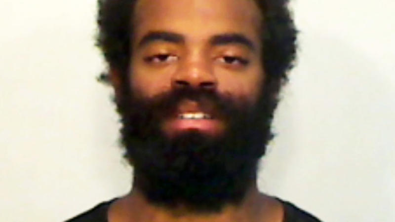 Andrew Toles, pictured here after he was arrested for trespassing.