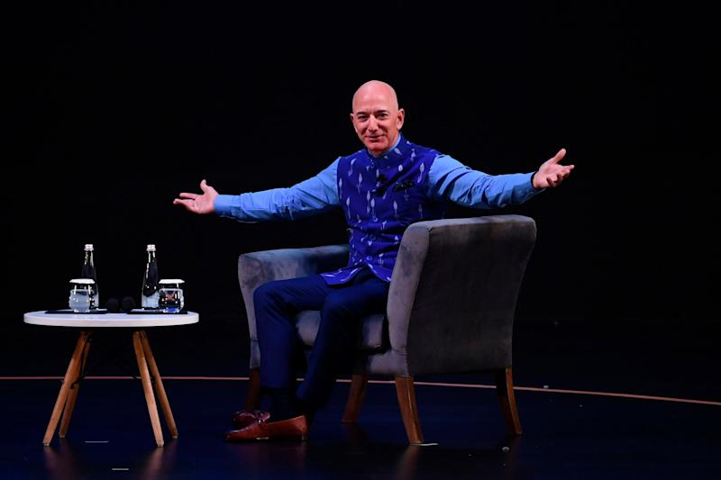 Jeff Bezos made more money in the first quarter of 2020 than Honduras made in the whole of 2019: AFP via Getty Images
