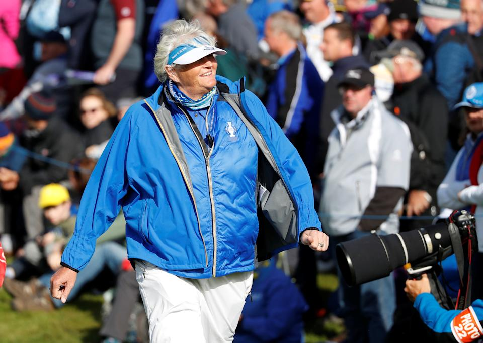 Davies, 57, would like to see Ladies European Tour prize funds move in the direction of the $1million Aramco Team Series