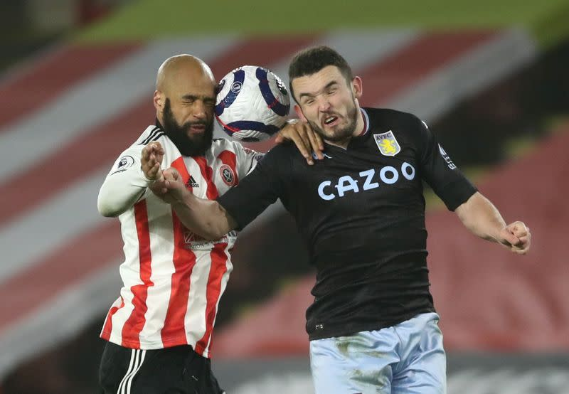 Premier League - Sheffield United v Aston Villa