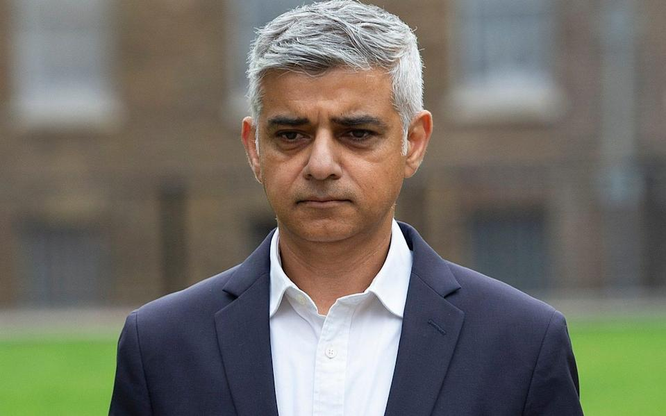 Sadiq Khan said he had 'said for a while that the current curfew rule needs to be rapidly reviewed' - Eddie Mulholland