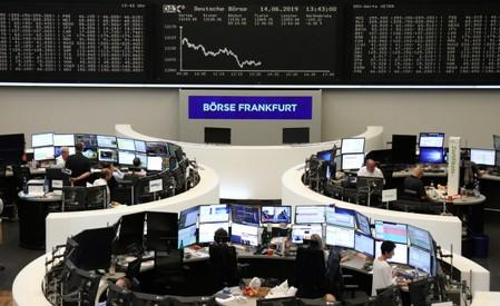 European stocks at six-week high as ECB's Draghi hints at stimulus