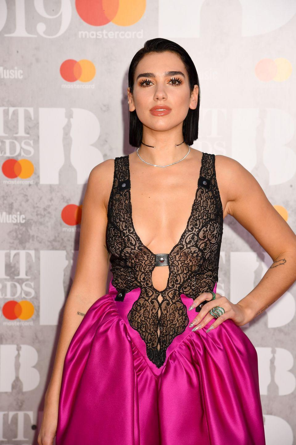 "<p>Dua ""Breaks Our Hearts"" EVERYTIME she hits a carpet. This look is one we will always remember. </p>"