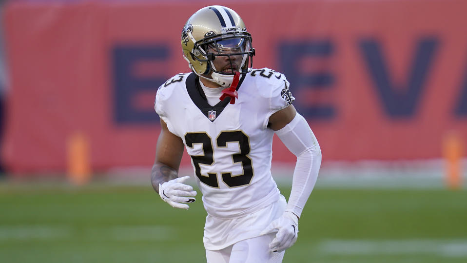 New Orleans Saints cornerback Marshon Lattimore