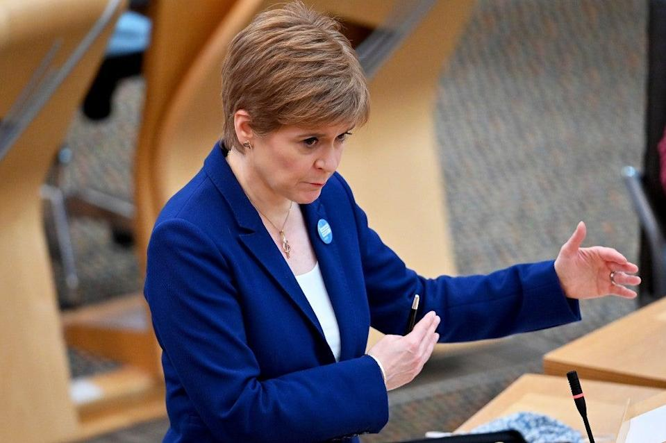 The SNP leapt on the memo as proof that the government is 'in panic mode' (REUTERS)
