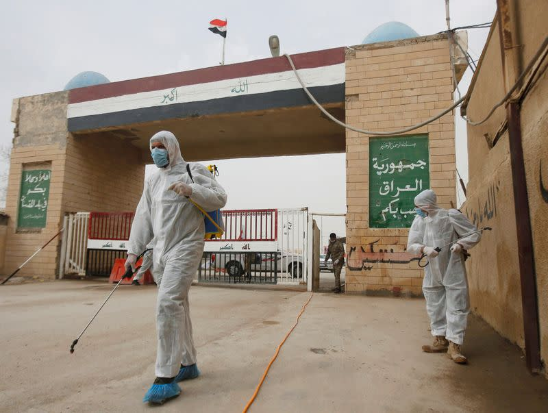 Coronavirus deaths in Iraq rise to six: state news agency