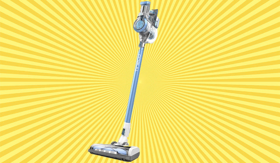 The cordless stick vac is slim but strong. (Photo: Amazon)