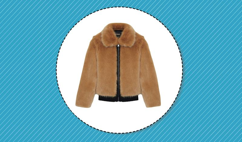 3b492c9201f3 The faux-fur jackets of your dreams are on sale now