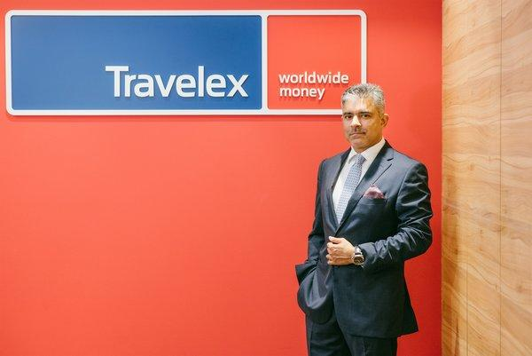 Rakesh Aravind, Trading Director of South Asia & Country General Manager of Travelex