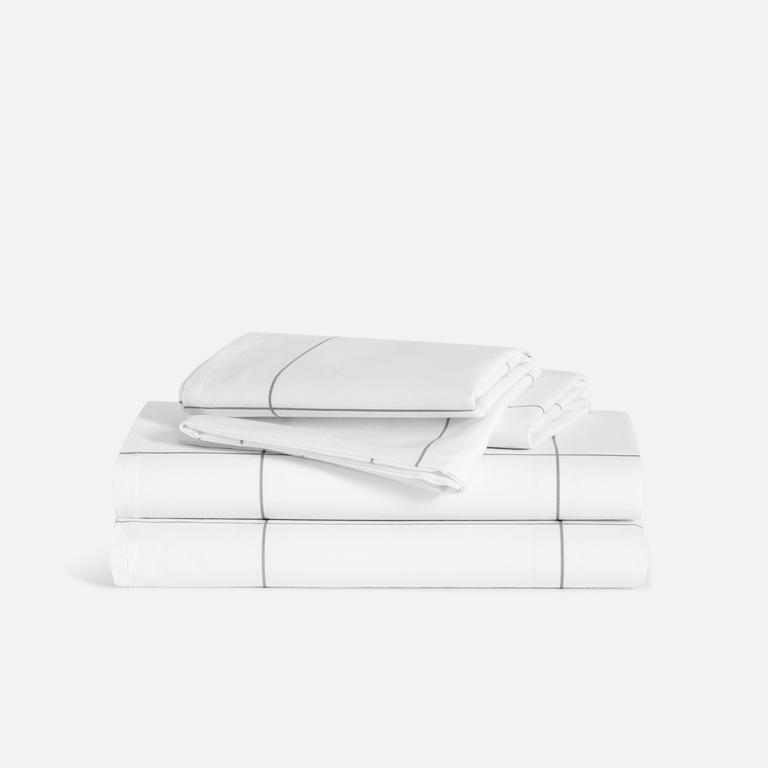 """<h2>Sheet Sets<br></h2><br><h3>Brooklinen Luxe Core Sheet Set </h3><br>You spend <a href=""""http://www.technologist.eu/why-do-we-sleep-one-third-of-our-time/"""" rel=""""nofollow noopener"""" target=""""_blank"""" data-ylk=""""slk:1/3 of your life sleeping"""" class=""""link rapid-noclick-resp"""">1/3 of your life sleeping</a>, so you better make sure your bedding is butter soft. These top-rated sheets are crafted from durable, long-staple cotton in a rich """"buttery-smooth"""" 480-thread-count weave.<br><br><em>Shop <a href=""""https://www.brooklinen.com/products/luxe-core-sheet-set"""" rel=""""nofollow noopener"""" target=""""_blank"""" data-ylk=""""slk:Brooklinen"""" class=""""link rapid-noclick-resp""""><strong>Brooklinen</strong></a></em><br><br><strong>Brooklinen</strong> Luxe Core Sheet Set, $, available at <a href=""""https://go.skimresources.com/?id=30283X879131&url=https%3A%2F%2Fwww.brooklinen.com%2Fproducts%2Fluxe-core-sheet-set"""" rel=""""nofollow noopener"""" target=""""_blank"""" data-ylk=""""slk:Brooklinen"""" class=""""link rapid-noclick-resp"""">Brooklinen</a>"""