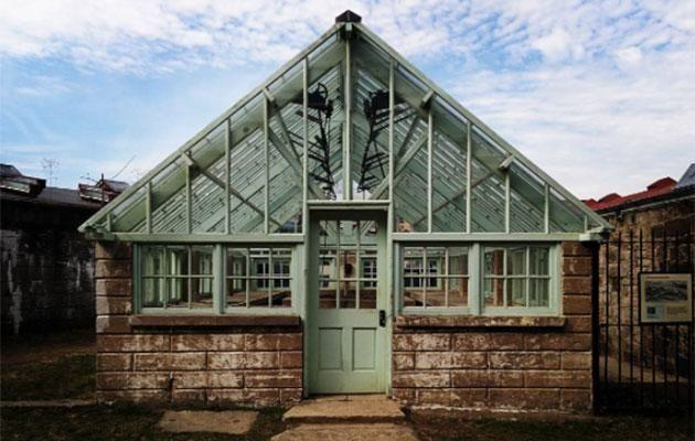Eastern State Penitentiary always maintained a greenhouse on site to teach prisoners skills. Photo: Carly Williams Yahoo7 Be
