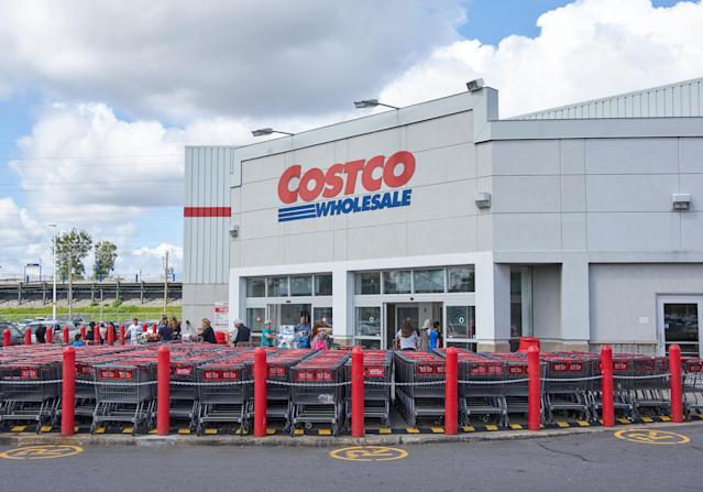 """<em>Yahoo Finance Canada</em> readers can't seem to get enough of Costco Wholesale Corp. After all, the stock went on a tear this year, jumping 42.54 per cent in 2019 as of mid-December. Costco also opened its first location in China in the summer, and the response was <a href=""""https://ca.finance.yahoo.com/news/costco-just-opened-its-first-store-in-china-and-the-response-is-insane-105429767.html"""" data-ylk=""""slk:absolutely insane;outcm:mb_qualified_link;_E:mb_qualified_link;ct:story;"""" class=""""link rapid-noclick-resp yahoo-link"""">absolutely insane</a>."""