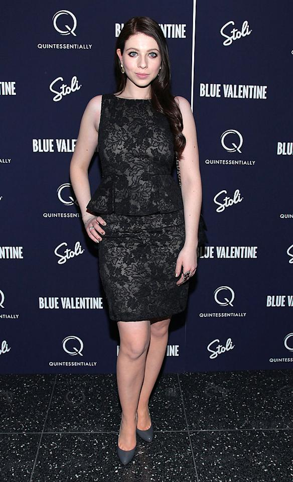 "<a href=""http://movies.yahoo.com/movie/contributor/1800019074"">Michelle Trachtenberg</a> attends the New York premiere of <a href=""http://movies.yahoo.com/movie/1809945752/info"">Blue Valentine</a> on December 7, 2010."