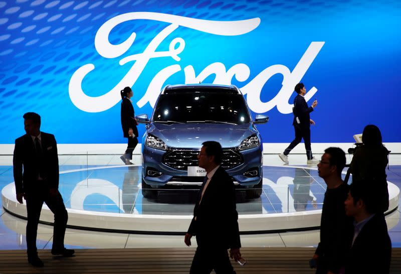 Ford's quarterly China sales rise for the first time in three years