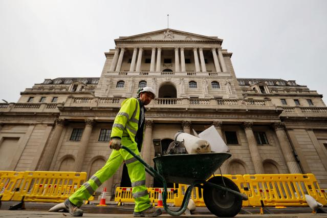 The Bank of England has twice cut interest rates since the pandemic struck. Photo: Tolga Akmen/AFP via Getty Images