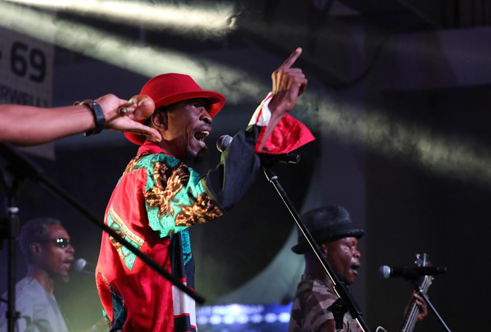 Jupiter and Okwess on stage at Singapore F1. (PHOTO: Singapore GP)
