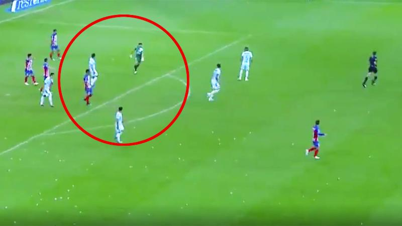Antonio Rodriguez scored an amazing goal from his own penalty box for Chivas.