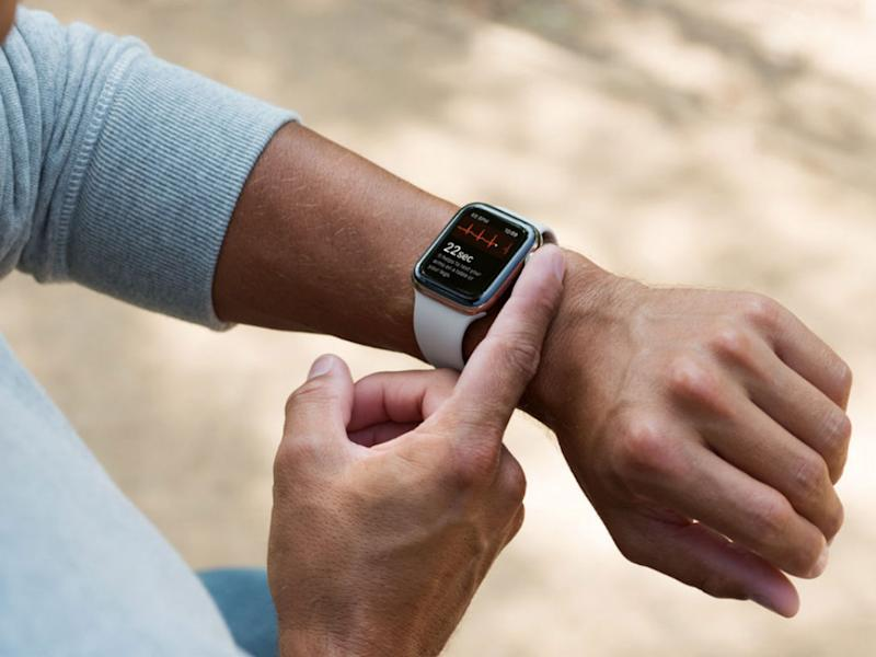 A glimpse of the Apple Watch's latest addition in medical technology €