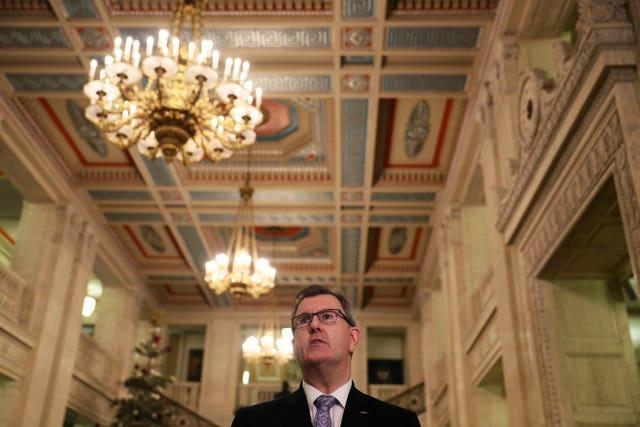 Sir Jeffrey Donaldson started out with the UUP (Brian Lawless/PA)