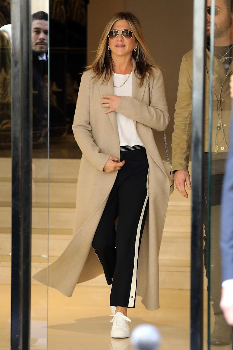 Jennifer Aniston Is Taking a Page Out of Victoria Beckham's Style Playbook