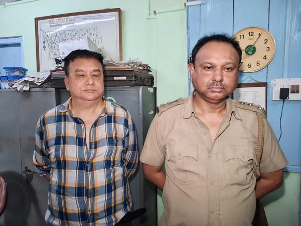 The arrested accused by West Bengal forest officials. (Photo/ANI)