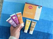 """<p>""""I don't want to walk around stinky, so I tried many natural deodorants and antiperspirants to try to remedy this problem. And, after a lot of trial and error, I finally found one that works. </p> <p>The best thing about <span>Lume deodorant</span> ($49, originally $57 for three) is that it can be applied to your feet, armpits, and private parts - a triple threat! You can also buy it in a tube or deodorant stick. I prefer the tube, because you can more easily control how much or little deodorant you use on your designated areas. Lume's site claims that it can stop the stink for up to 72 hours, and I can attest that this is true. I know, it sounds too good to be true, but it's really that great. According to the brand, in clinical tests, the deodorant was found to control odor six times longer than its leading natural competitors - and considering I've tried what feels like every natural deodorant on the market, I can believe it."""" - Angela Anagnost-Repke, contributor</p> <p>Read the full <a href=""""https://www.popsugar.com/fitness/lume-natural-deodorant-review-48234218"""" class=""""link rapid-noclick-resp"""" rel=""""nofollow noopener"""" target=""""_blank"""" data-ylk=""""slk:Lume Deodorant review"""">Lume Deodorant review</a>.</p>"""