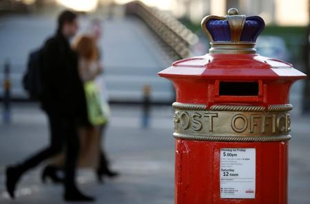 Royal Mail affirms FY targets, sees first quarter in line with view