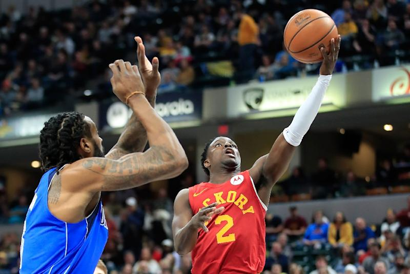Indiana39s Darren Collison On The Way To 16 Points In Pacers