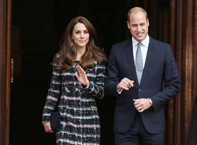 The Duke and Duchess of Cambridge, who are to make an official visit to Germany and Poland - PA Wire/PA Images