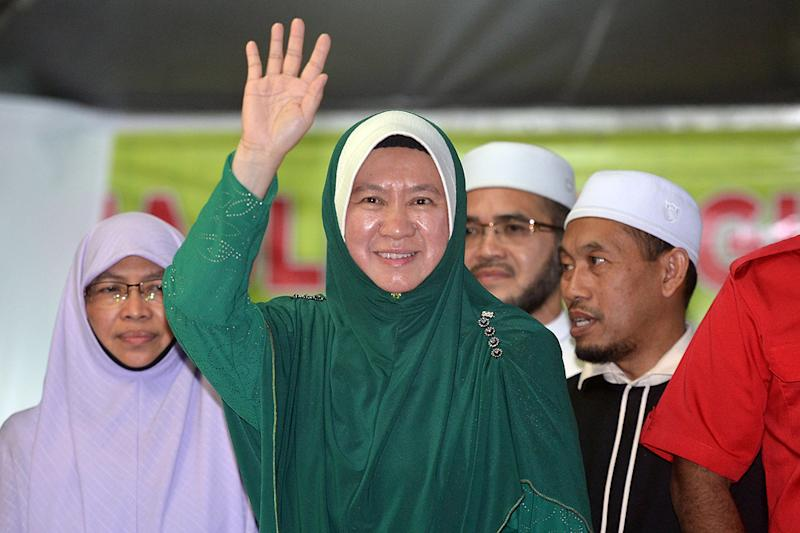 PAS candidate Dr Halimah Ali (pic) faces PH's Halimey Abu Bakar in a straight fight for the Seri Setia state seat by-election this Saturday. — Picture by Mukhriz Hazim