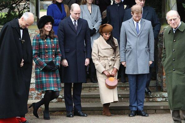 """Meghan Markle showed off her <a href=""""https://people.com/royals/meghans-first-curtsy-kate-middleton-and-meghan-markle-expertly-bow-to-the-queen/"""">first public curtsy</a> to Queen Elizabeth during the royal family's Christmas Day church outing in 2017 — and she had sister-in-law Kate Middleton to show her how it's done."""