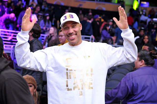 LaVar Ball and family have been going through a rough couple of months. (Photo by Allen Berezovsky/Getty Images)