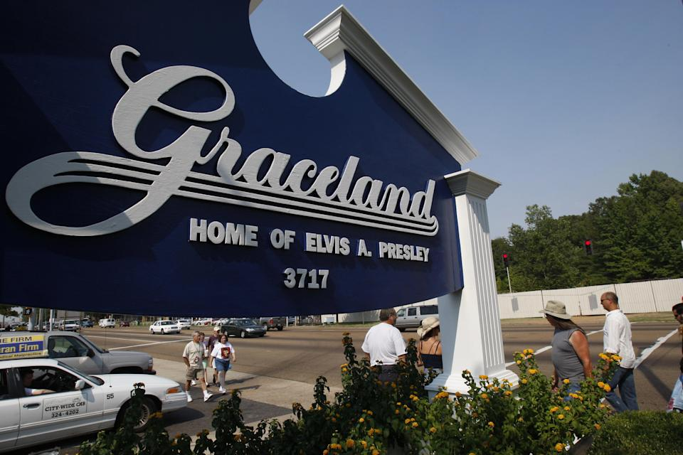 <p>The tour will suit fans unable to travel to Graceland due to the pandemic</p> (AFP via Getty Images)